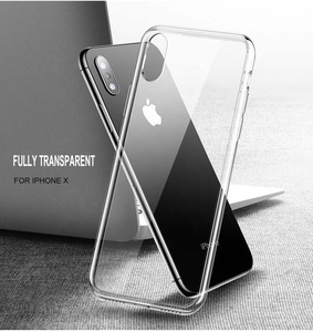 China Manufacturer Custom Transparent Clear Tpu Cover Mobile Cell Phone Case for Iphone 6 6s 7 7s 8 X plus