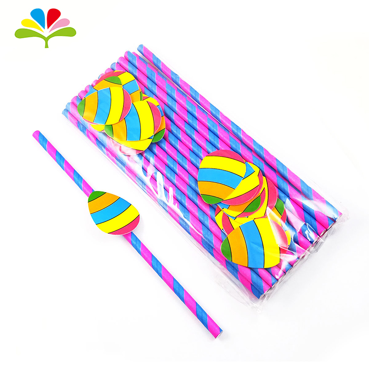 Birthday Party Decoration Paper Straws Wedding Favors Star Drinking Straws