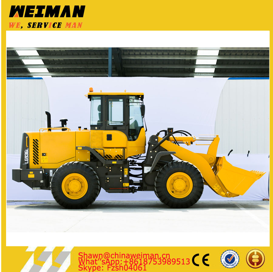 New 5t payloader LG953 L953F with 3000mm wheel base for construction and mining