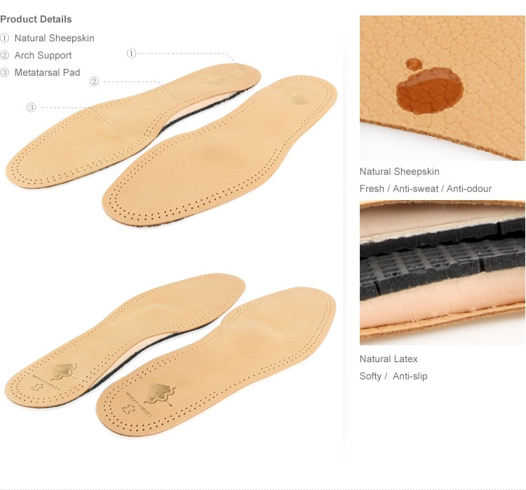 Comfort Shoe Insoles With Arch Support