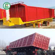 China 3 Axles 40 Ton Sand Tipper Truck Semi Trailer,Truck Trailers For Sale
