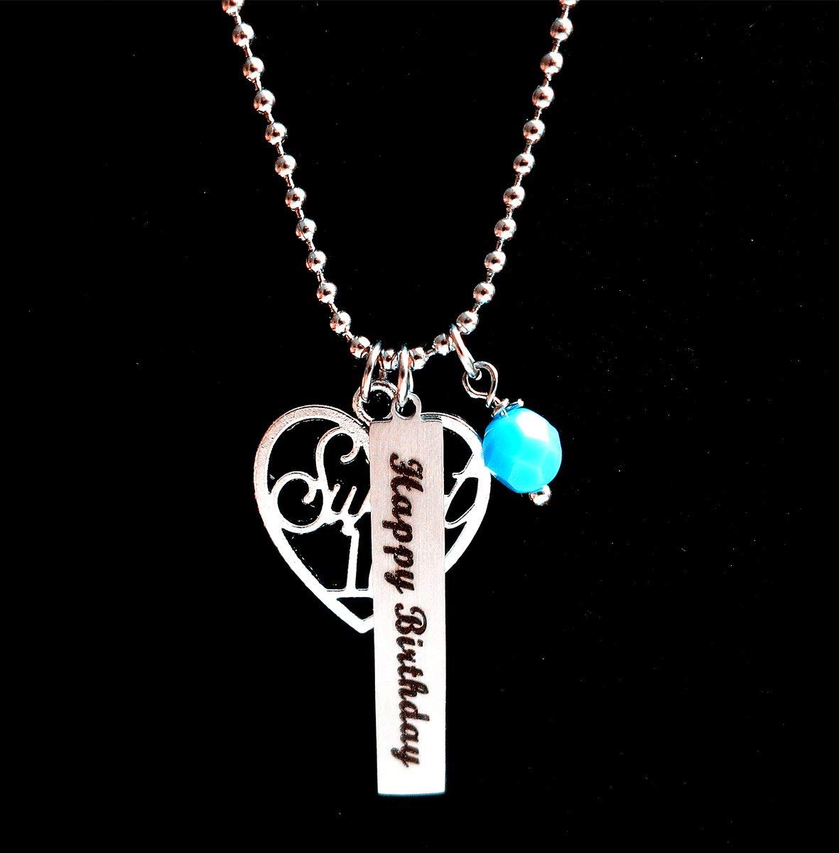 Get Quotations Special Milestone Birthday Giftsweet 16 Happy Necklace For GirlSweet Jewelry