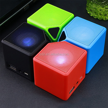 Water Cube Speaker Gifts Portable Mini Card Wireless Bluetooths audio manufacturers wholesale
