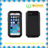 Professional waterproof silicon aluminum metal cell phone case for samsung s4
