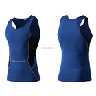 Hot sale custom logo quick drying man mesh polyester sport fitness tank tops