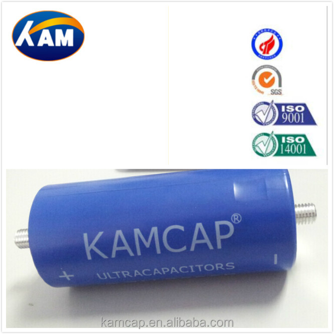hot selling , low price , large capacitance 1000F ,1200F,1500F ,2000F ,3000F ,10000F Kamcap super capacitor Winding series