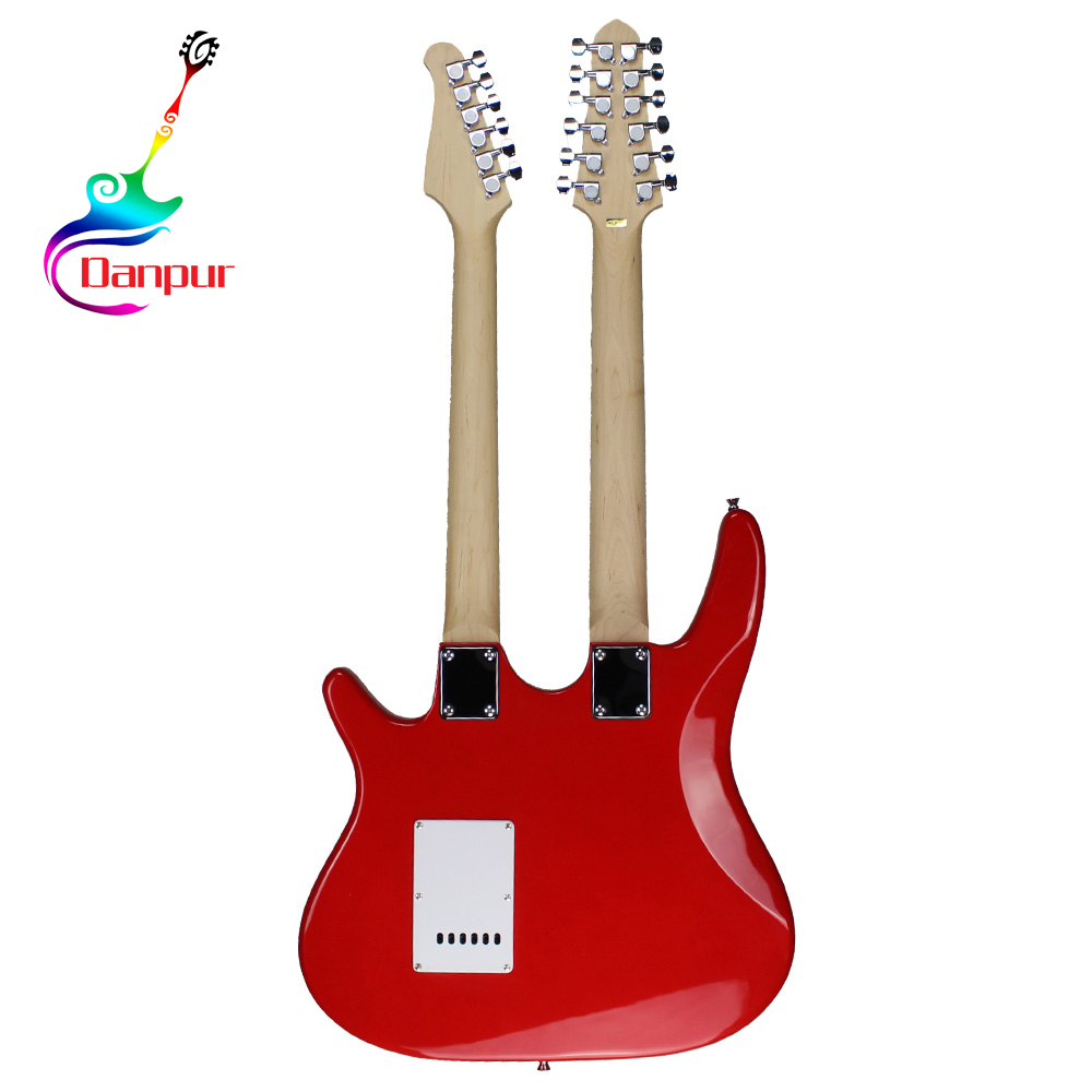 high quality cheap china 12 double neck electric guitar kit buy electric guitar 12 string. Black Bedroom Furniture Sets. Home Design Ideas