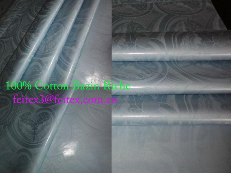 Jacquard African Fashion Cloth Fabric Bazin Shadda Damask Guinea Brocade 10 Yards/Bag Wholesale Price Stock Textiles Perfume