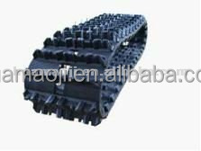Supply high quality snow blower rubber track