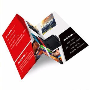 Customized cheap CMYK color glossy paper offset printing flyers wholesale