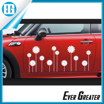 Pvc sticker label car decals wholesale factory price 4x4 bumper stickers sticker for car