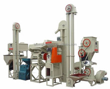 mini automatic complete rice flour milling machine/small scale rice roll mill plant