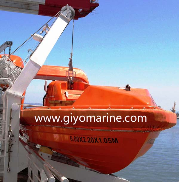Marine Totally Enclosed Lifeboat And Rescue Boat