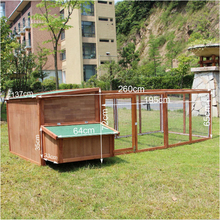 wholesale outdoor waterproof large cheap bamboo chicken coop