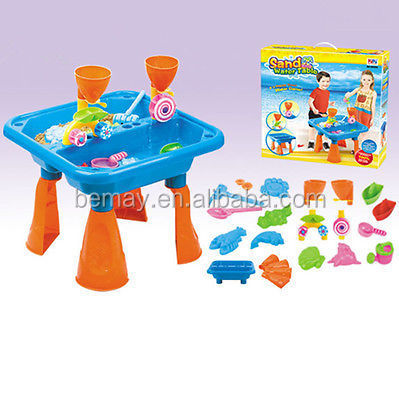 19pcs Magic Sand Beach Toys Set Education Toy Water Table