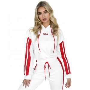 a1671a589ef Woman tracksuits wholesale sweat suits running clothes 2 pieces set gym  wear red training sportswear
