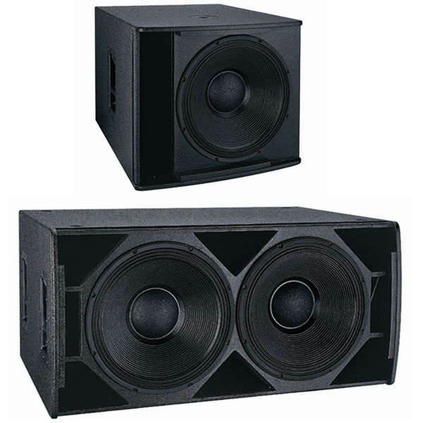 Wood Speaker Cabinet Dual 18 Inch Subwoofer Buy 18