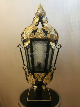 Moroccan Style Garden Lamp Outdoor Waterproof Pillar Light Lights For Pillars Lighting Product On