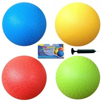Colorful 8.5 Inch pvc playground ball toy ball for kids