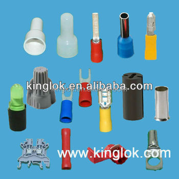 Wire Crimp Fittings | Cable Crimp End Terminal Electric Wire Lugs Brass Lugs Wire Fittings