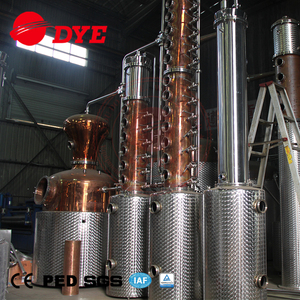 200L copper distillation equipment for jack daniels whiskey