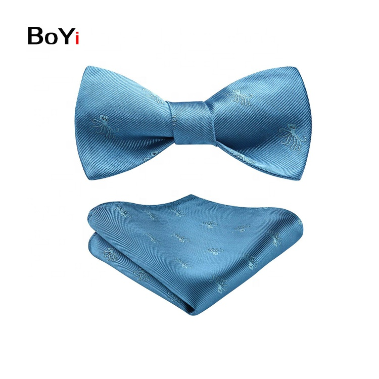 Good Quality Custom Digital Printed Animal Pattern Twill Bow Ties men
