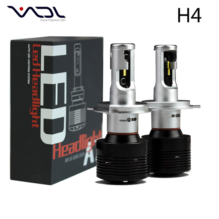 Accessories parts auto headlights car h4 high low beam led headlight bulbs S2 daytime running car led headlight h4 led lights