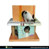 Creative Design Cardboard Pet House Toy
