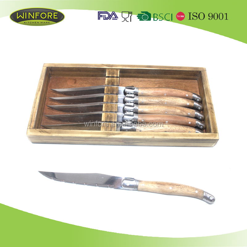High Quality 15pcs Stainless Steel Utility Kitchen Knife