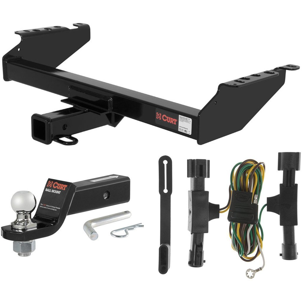 """CURT Class 3 Hitch Tow Package with 1-7/8"""" Ball for 1992-1996 Ford Bronco"""
