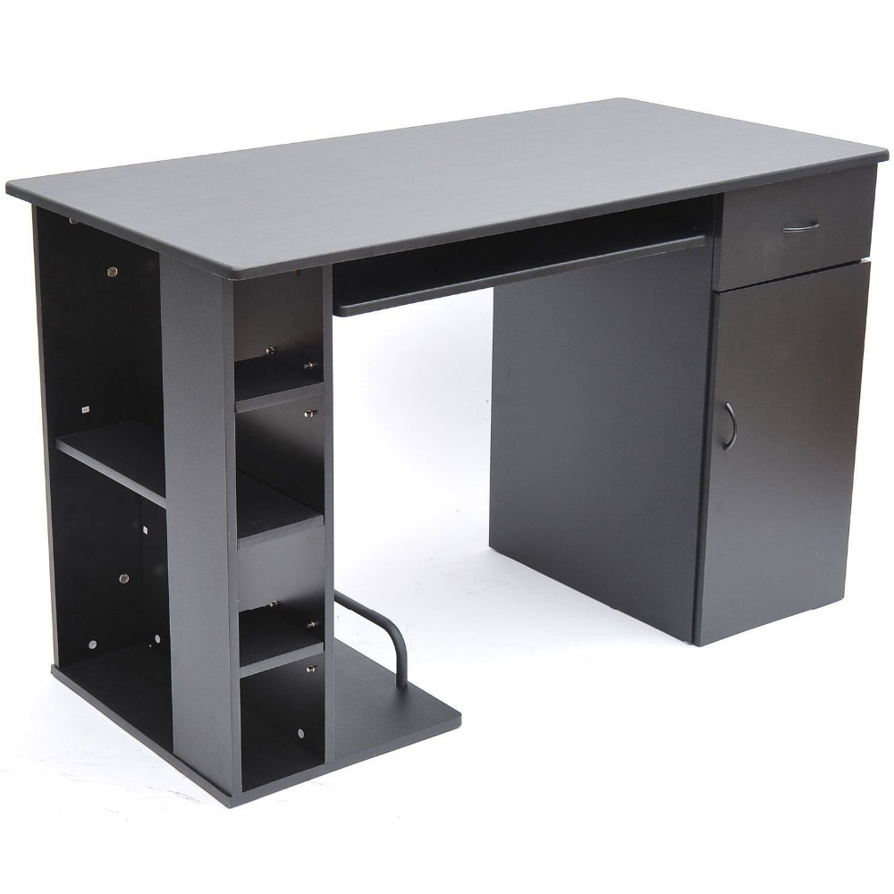 Beautiful Gaming Computer Desk With Cd Rack Sleek Drawers   Buy Gaming  Computer Desk,Computer Desk Keyboard Drawer,Computer Desk With Printer  Storage ...