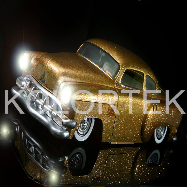 Automotive Metal Flakes,Glitter Gold Spray Paint