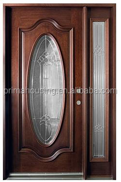 Latest design safety door wooden interior door room door for Latest wooden door designs pictures