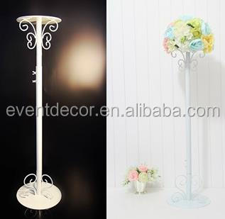 Tall Wedding Decoration Flower StandWrought Iron Flower Stand For