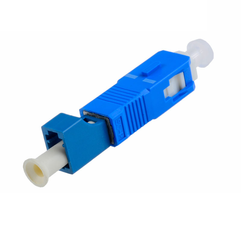 Hybrid Lc To Sc Fiber Adapter Lc Female To Sc Male Fiber