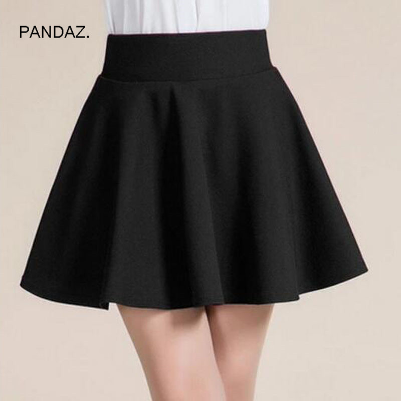 Winter and Summer style Brand women skirt elastic faldas ladies midi skirts Sexy Girl mini short