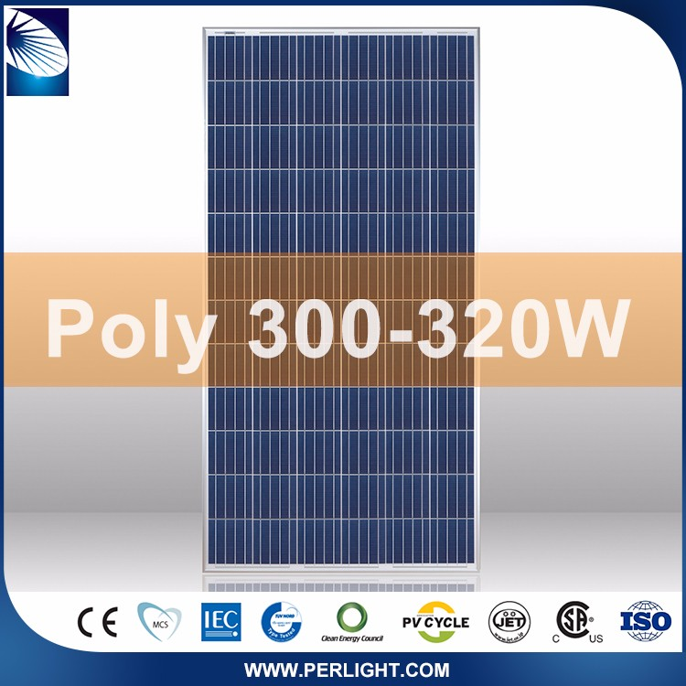 hot sale inexpensive poly 300 solar panel