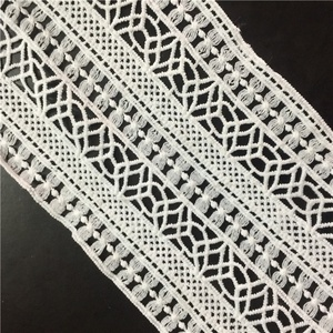In stock lace trimming fashion DIY clothing accessories garment embroidery lace for girls pants & trousers