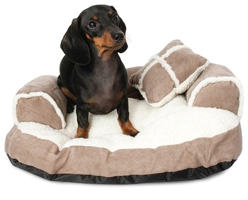 Pet Sofa Bed Animal House Pet Dog Products Pillow Blanket Pets
