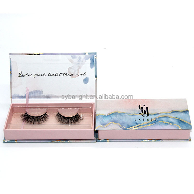Wimpers extension sliding dozen lashes voor cosmetica