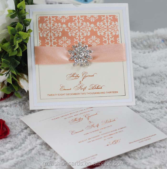 2014 New Unique Luxury Jeweled Wedding Invitations Buy Jeweled