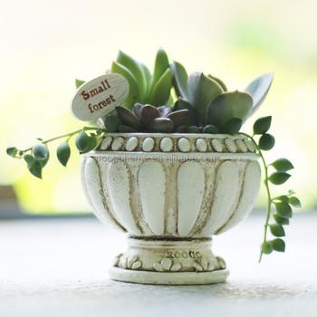 Roogo Home 2017 Wholesale Planter Vintage Christmas Resin Succulent