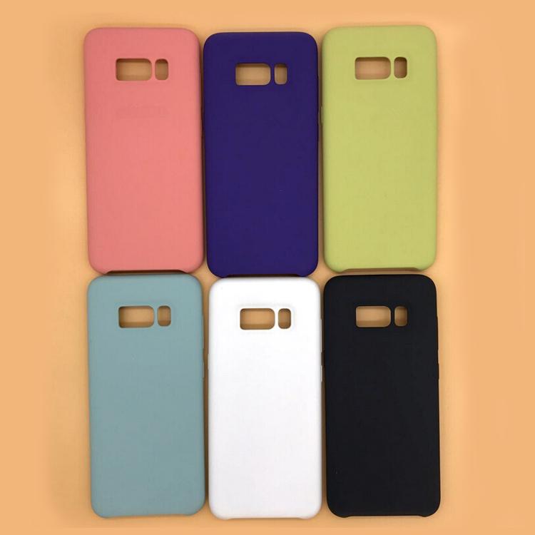 newest collection 9949d c9129 For Samsung Galaxy S9 S8 Plus Liquid Silicone Case Microfiber Original  Rubber Phone Cover With Logo - Buy For Samsung Galaxy S9 S8 Plus Liquid ...