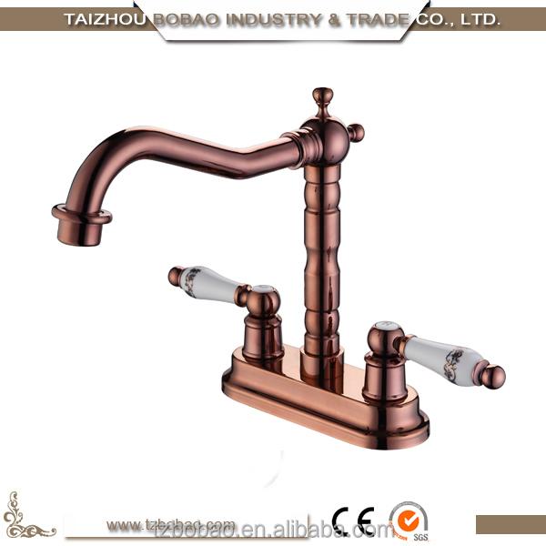 Antique Brass Basin Faucet Face Wash Bathroom Basin Faucet Old ...