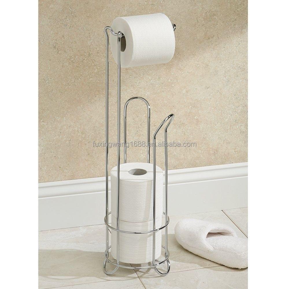 Chrome Bathroom Toilet Tissue Roll