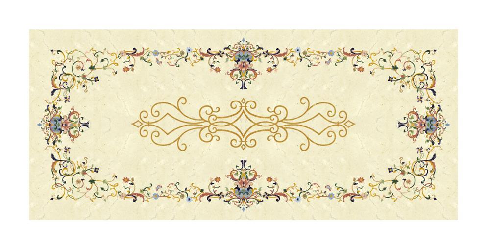 Luxurious Majlis Floor Decoration Natural Marble Inlay - Buy Marble  Inlay,Marble Floor Product on Alibaba com