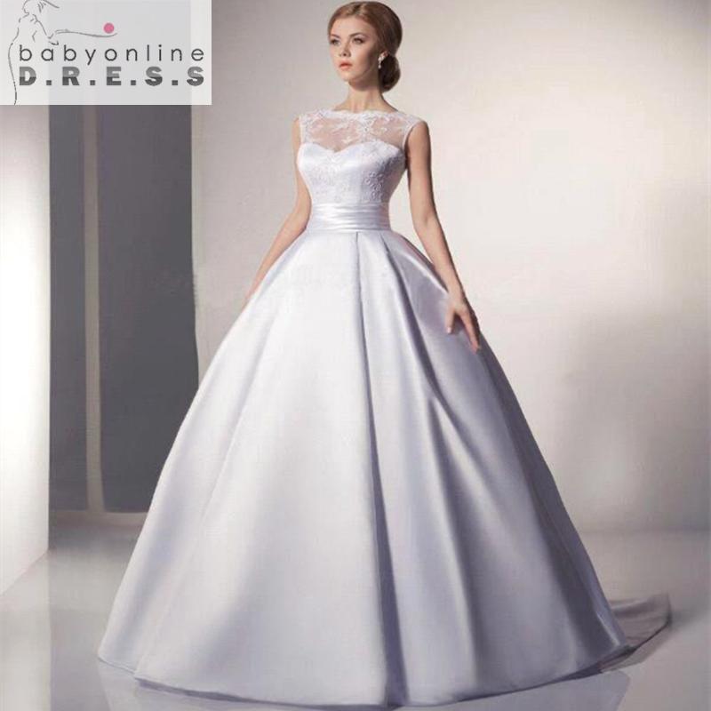 Robe De Mariage Cheap Ball Gown Wedding Dress Under 100 A