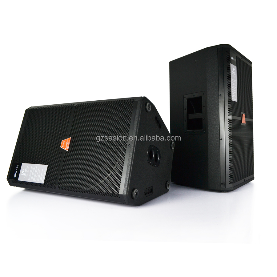 Hot sale 15 Inch professional stage audio DJ speaker with high quality soundbar