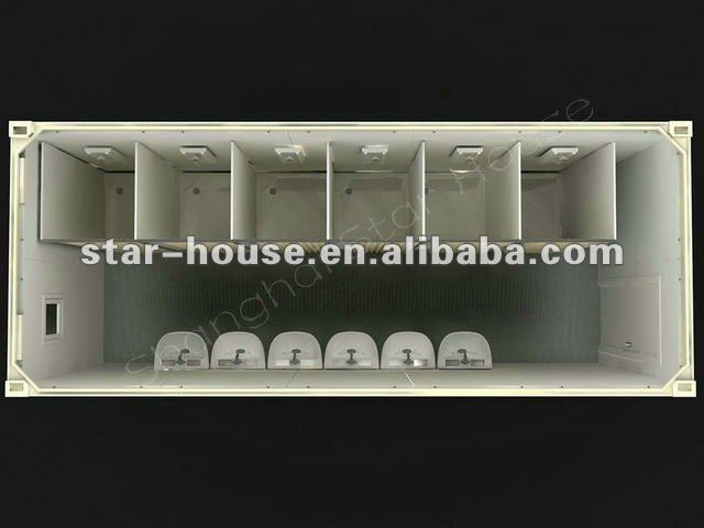 prefab ablution with CE,CSA,B.V.,AS certificate