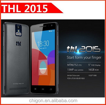 Wholesale THL2015 MTK6752L Octa Core THL 2015 Mobile Phone 5.0 Inch Screen 4G LTE Smartphone